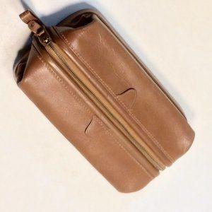 Dopp Kit Brand Leather Toiletry Travel Shave Kit